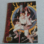 Star Wars Galaxy 1993 Topps #48 Howard Chaykin poster Trading card